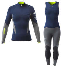 Zhik Womens Superwarm V Skiff Suit / Top Kit Bundle