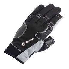 Crewsaver Junior Three Finger Gloves 2019 - Black