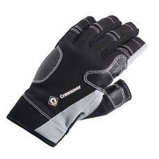 Crewsaver Short Finger Gloves 2019 - Black