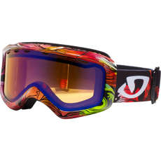 Giro Charm Womens Skiing & Snowboard Goggles - Gloss BLK/Stormy Sea BLK/Per Boost 50