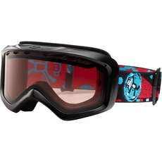 Giro Grade Junior Skiing Goggles - Gloss BLK/Julius Gamma Ray/Vermillion
