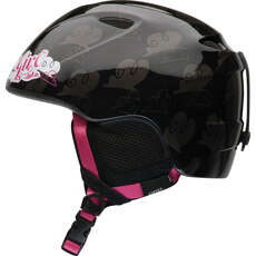 Giro Slingshot Childrens Girls Ski & Snowboard Helmet - Black Clouds