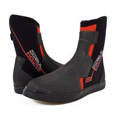 Gul Evolution Boots - 5mm Wetsuit Boots - Black/Red