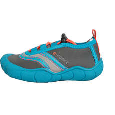 Gul Junior Aqua Shoe Beach Shoes 2018 - Blue/Coral