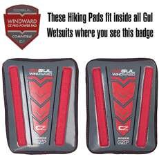Gul Windward Hiking Pro Pads - Fit Inside Compatible Gul Wetsuits 2019