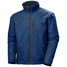 Helly Hansen Crew Mid Layer Jacket 2020 - North Sea Blue