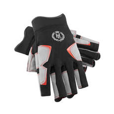 Henri Lloyd Deck Grip Sailing Short Finger Glove 2019 - Black