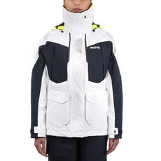 Musto Womens BR2 Offshore Jacket 2018 - White/True Navy