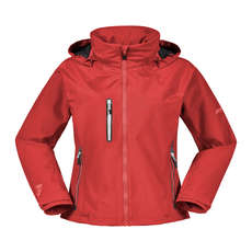 Musto Womens Sardinia BR1 Jacket 2019 - True Red/Platinum