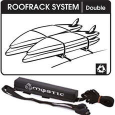 Mystic Soft Roofrack System Single / Double