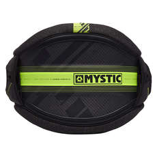Mystic Majestic X Waist Harness 2019 - Black/Lime - No Spreader Bar