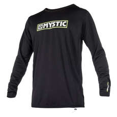 Mystic MVMNT Long Sleeve Quickdry Top  - Black