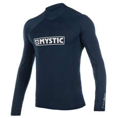 Mystic Star Long-Sleeve Rash Vest 2019 - Navy