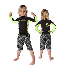 Mystic Star Kids Long Sleeve Rashvest - Black
