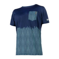 Mystic Voltage Shortsleeve Quickdry  - Navy