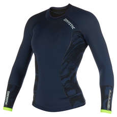 Mystic Womens Diva Vest Neoprene Wetsuit Top  - Navy/Lime