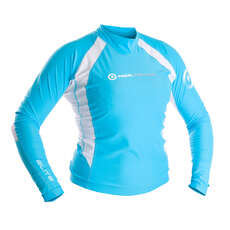 Neil Pryde ELITE Rashguard Womens - Blue/White