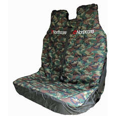 Northcore Double Van Seat Cover - Camo