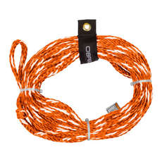 OBrien 2-Person Tube Rope 2019 - Orange/White