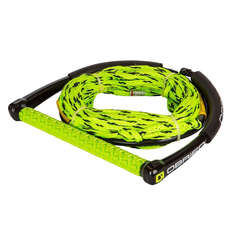 OBrien 4-Section Poly-E Wake Combo Rope and Handle 2019 - Green/Black