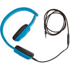 Outdoor Tech Bajas Wired Headphones - Electric Blue