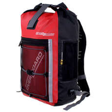 OverBoard Pro Sports Waterproof Backpack - 30 Ltr - Red