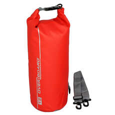OverBoard Waterproof 12 Ltr Dry Tube Bag - 12 Ltr - Red