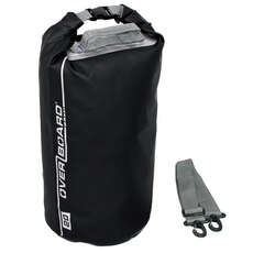 OverBoard Waterproof Dry Tube Bag - 20 Ltr - Black