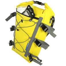 OverBoard Waterproof Kayak Deck Bag - 20 Ltr - Yellow