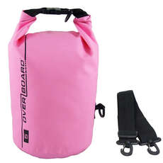 OverBoard Waterproof Dry Tube Bag - 5 Ltr - Pink