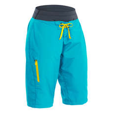Palm Womens Horizon Shorts 2021 - Aqua