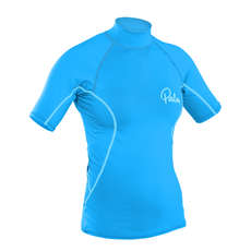 Palm Womens Shortsleeve Rash Guard 2019 - Aqua