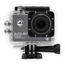 Silverlabel Focus Action Camera 4K - Black/Silver