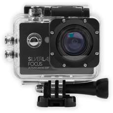 Silverlabel Focus Action Camera 720p - Black/Silver