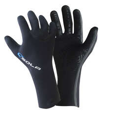 Sola 3mm Super Stretch Liquid Seam Wetsuit Gloves