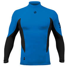 Zhik Long Sleeve Spandex Top - Cyan