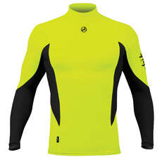 Zhik Long Sleeve Spandex Top - Hi-Vis