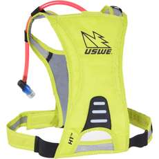 USWE H1 Racer Hydration Pack with 500ml Disposable Bladder - Yellow