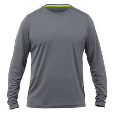 Zhik Long Sleeve ZhikDry LT Tee 2019 - Grey