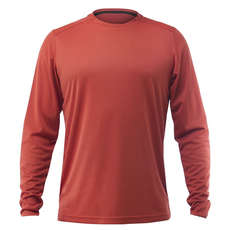Zhik Long Sleeve ZhikDry LT Tee 2019 - Rust
